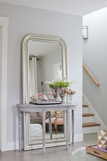 Layered-with-a-console-mirror-decoration