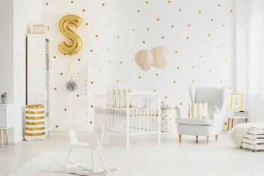 Metallic-baby-boy-room-idea