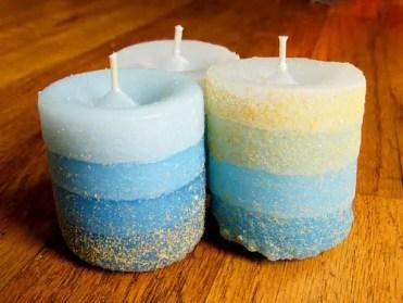 Sand-cast-candles