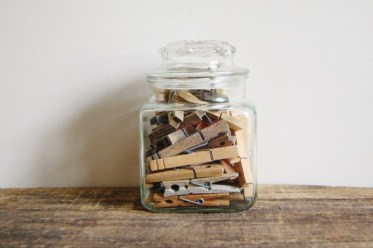 Storage-and-display-clothespins