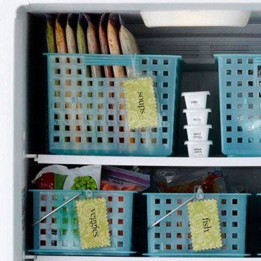 Use-bins-in-the-freezer-to-keep-things-organized