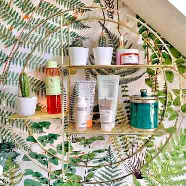 Artistic-modern-toiletries-shelf-thesteadingonthehill
