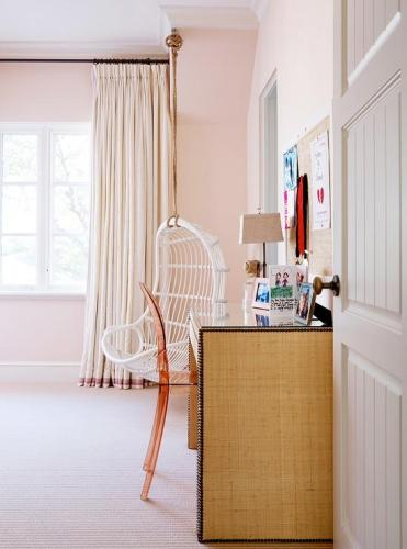Burlap-nailhead-desk-pink-acrylic-chair