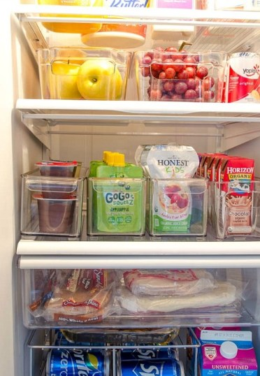 Clever-refrigerator-organizing-ideas-pull-out-bins