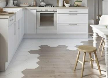 Kitchen-flooring-ideas-wood-and-hexagonal-tiles
