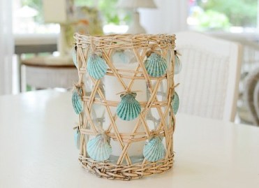 Nautical-seashell-lantern