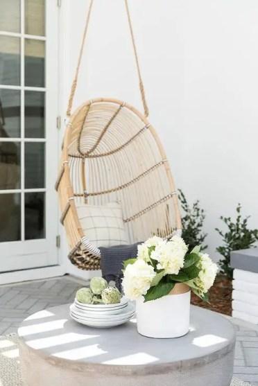 Patio-hanging-rattan-chair