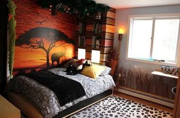 Safari-themed-kids-bedroom
