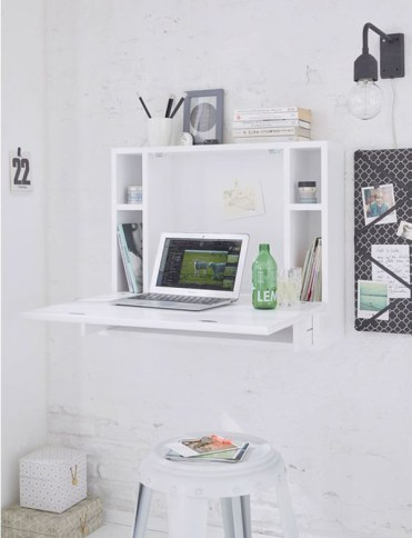 Wall-mounted-folding-desk-for-home-office