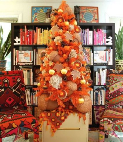 04-a-beautiful-fall-tree-in-orange-with-pinecones-citrus-oversized-acorns-and-ornaments-is-very-unusual