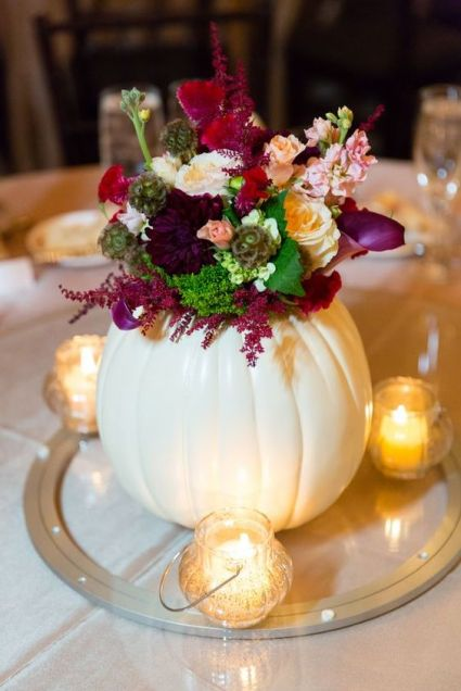 04-pumpkin-used-as-a-vase-for-a-fall-wedding-centerpiece-1