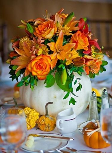 07-white-pumpkin-vase-with-flowers-for-table-decor