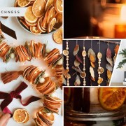 10 dried orange crafts to beautify your home2