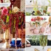 30 fall bouquet vase arrangements2