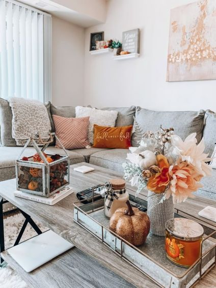 Autumn-decorating-ideas-for-your-living-room-coffee-table-5