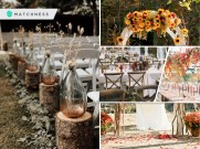 Having a romantic fall wedding with these 25 decor ideas2