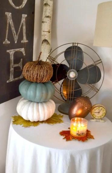Neutral-pumpkin-decor