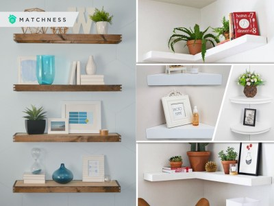 Style your floating shelves with these 45 ideas2