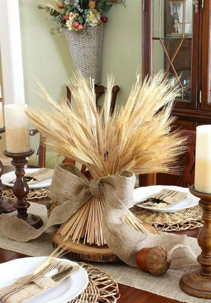 Wheat-bundle-centerpiece-dollar-store-fall-decor-anyone-can-make