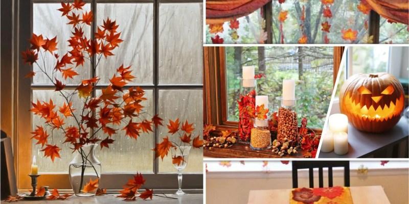 Your pretty fall window decoration ideas2