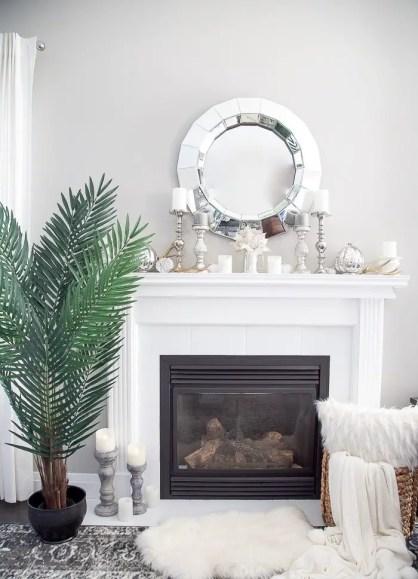 Artificial-palm-tree-living-room-decor-idea