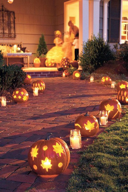 Beautiful-diy-outdoor-pumkin-lights-for-halloween