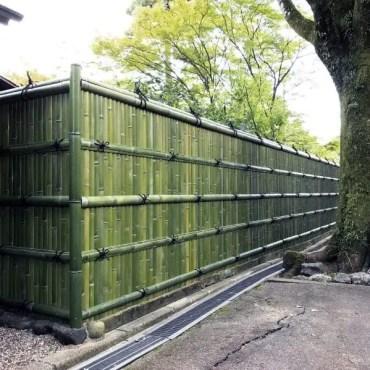 Design-ideas-green-bamboo-fence
