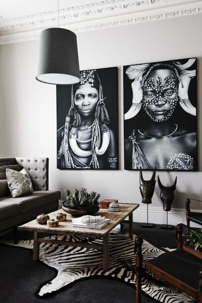 29-faux-zebra-skin-rug-in-a-living-room