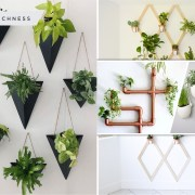 45 ideas of wall-mounted planter ideas2