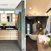 45 varied lighting ideas for your bathroom2