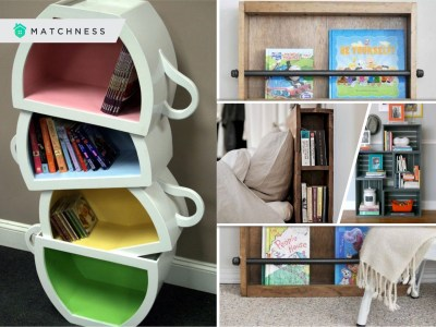 How to style your small book shelf2