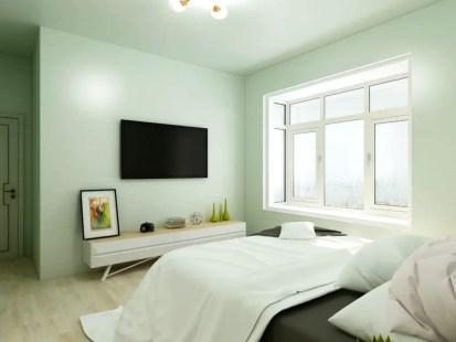 Light-green-bedroom_xujun_shutterstock