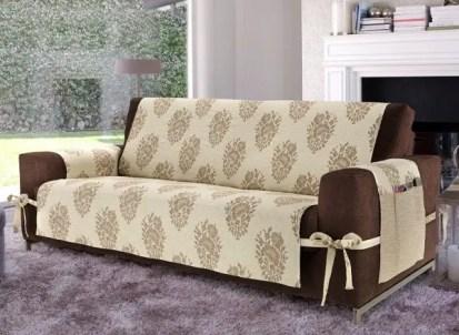 Creative-diy-sofa-cover-ideas-beige-cover-brown-sofa