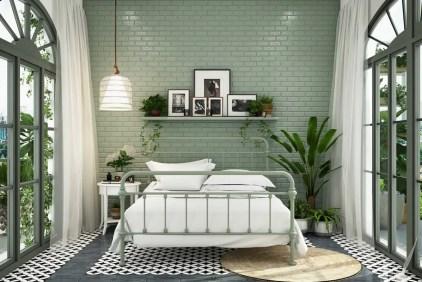 Salbei-grün-Schlafzimmer-Ideen