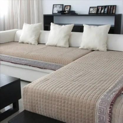 Slip-resistant-sectional-sofa-cover-ikea-modern-home-living-room-design
