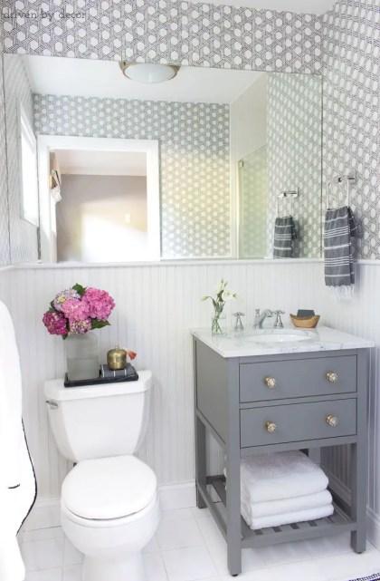 Small-bathroom-remodel-renovation-gray-vanity