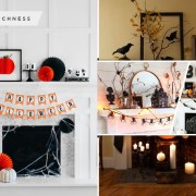 Ideas to decorate your halloween mantel