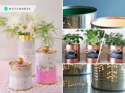 Tin can utilization for your home decor