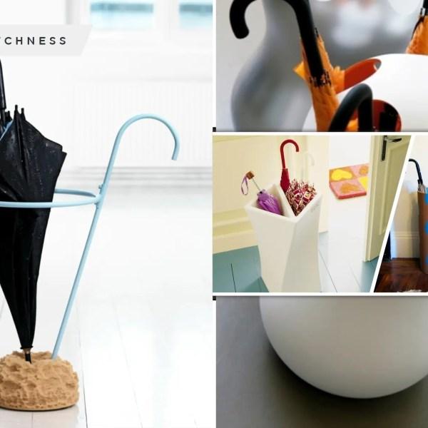 Unique umbrella stand ideas