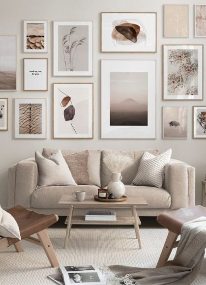 Earth-color-living-room