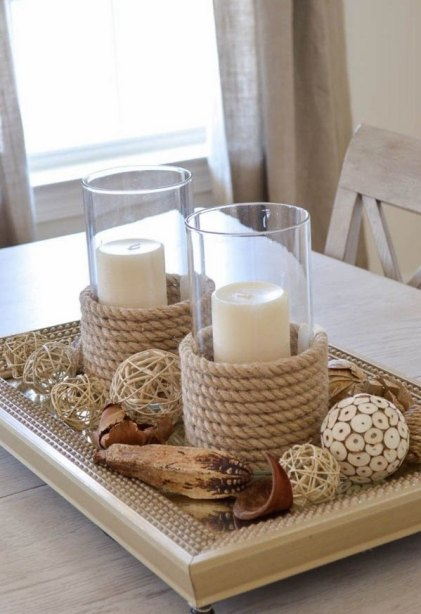 Seil-Bastel-Ideen-Diy-Seil-Kerzenhalter-Strand-Party-Dekoration-Ideen