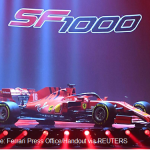 Ferrari-unveil-their-new-Formula-One-race-car-during-a-presentation-at-the-Romolo-Valli-Municipal-Theatre-in-Reggio-Emilia-Italy-February-11-2020.-Ferrari-Press-Office-Handout-via-REUTERS