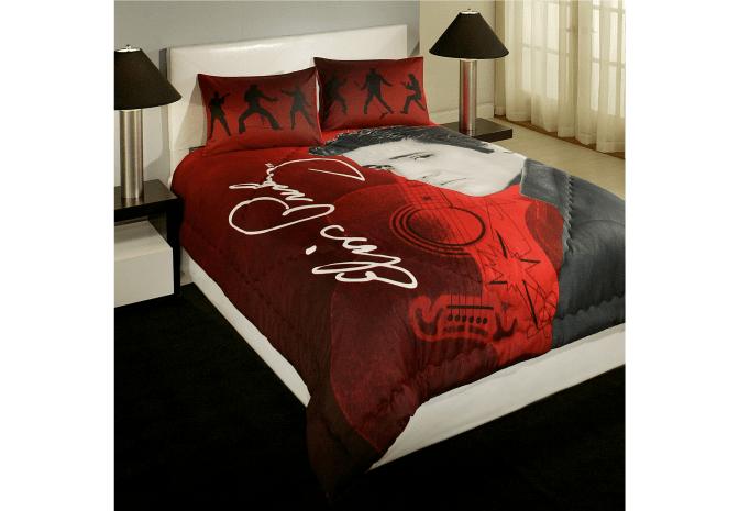 bedding elvis presley signature dancing