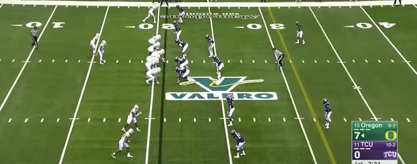Defending Tight End or Pro Spread Formations