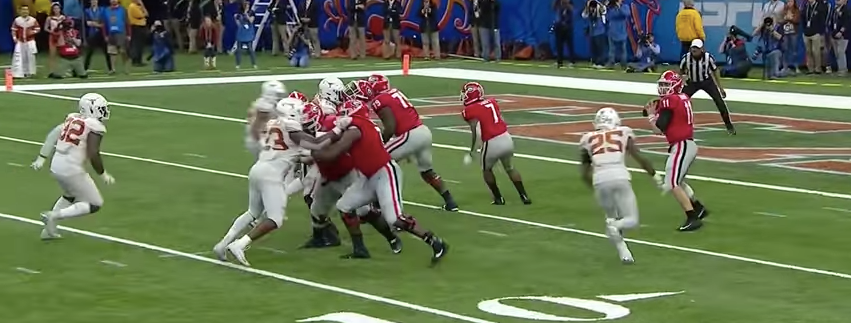 "Simulated Pressures From a ""Positionless"" Defense (2019 Sugar Bowl)"