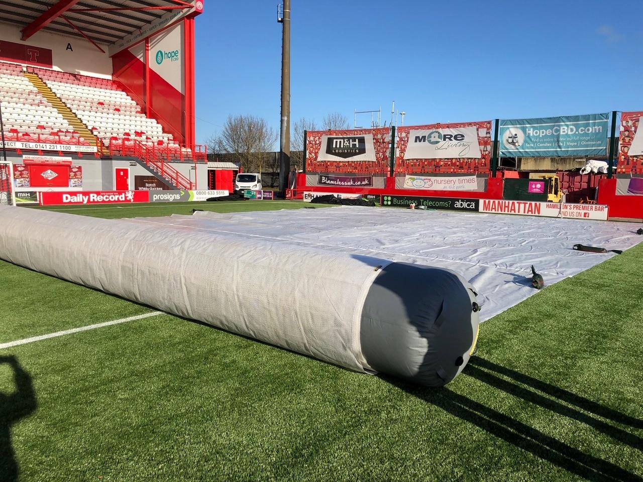 Air Roller Demo Day at Hamilton FC - Matchsaver