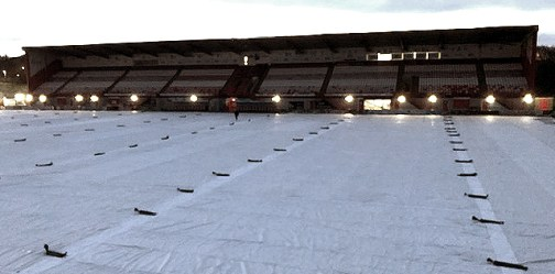 Matchsaver Football Pitch Covers