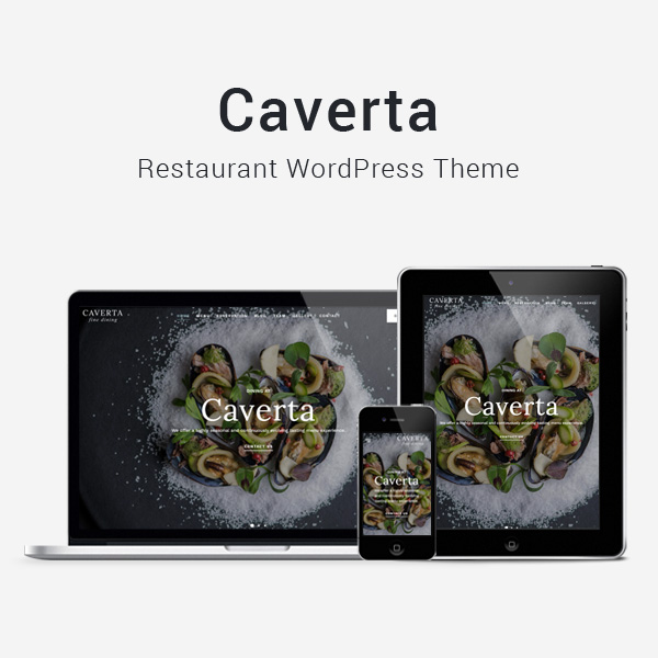 Caverta - Fine Dining Restaurant WordPress Theme - 3