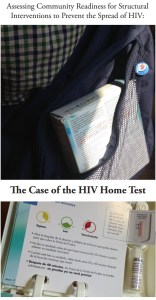 Photo of the Reasearch Cover: Assessing Community Readiness for Structural Interventions to Prevent the Spread of HIV: The Case of the HIV Home Test