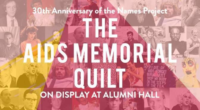 AIDS Memorial Quilt Display at IU Bloomington